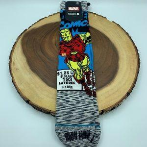 Stance Iron Man Mens Socks Sz 9-12